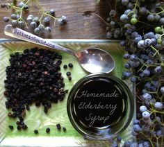 Homemade elderberry syrup for cold and flu prevention. This syrup is the secret to getting kids to take their fermented cod liver oil! Flu Remedies, Herbal Remedies, Natural Medicine, Herbal Medicine, Elderberry Syrup, Elderberry Recipes, Flu Prevention, Health Heal, Natural Health Remedies