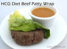 HCG Diet Beef Patty Wrap check it out here.... www.diyhcg.com