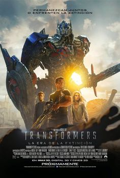 Transformers: Age Of Extinction International Poster - Cosmic Book News