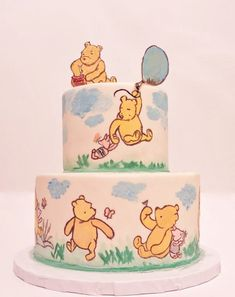 Cuddly and Charming Winnie the Pooh Cake Designs
