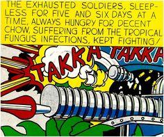 Roy Lichtenstein: Takka takka