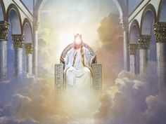 The Throne of Christ - The Realm of Mystery and Majesty Jesus Son Of God, King Jesus, Christian Artwork, Christian Images, Christian Videos, Heaven Pictures, Jesus Pictures, Revelation 19 16, Revelation Study