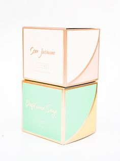LEIF Golden Ratios Boxed Candle