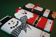 PatyCake: Freebies-Christmas Wrappers....Chocolate bar
