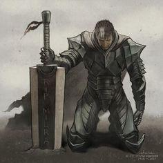 Gorillaz, Fantasy Warrior, Fantasy Art, Dark Fantasy, Character Concept, Character Art, Arte Dark Souls, Hellsing Alucard, Kentaro Miura