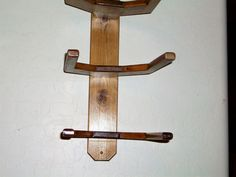 Cowboy Western Hat Rack Wall Mount for 3 Hats by BormanRRRanch, $30.00