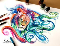 89- LIon by Lucky978 on @DeviantArt