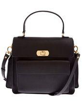 Marni - flap pocket satchel