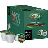 Green Mountain Sumatran Reserve Coffee For Keurig KCup Brewing Systems 108 Count *** Check this awesome product by going to the link at the image.