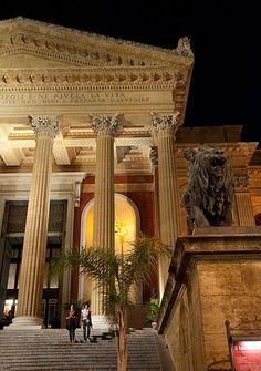 Teatro Massimo steps, Palermo,Italy Our hotel was just opposite these steps - so central to everything.