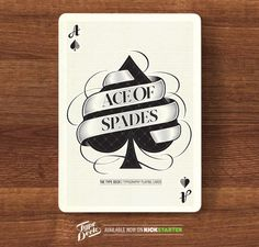 The Type Deck by Chris Cavill