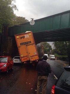 This unfortunate event involving a truck and a bridge: | 23 Times Irony Got Taken To A Whole New Level