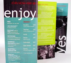 Membership Brochure Design Copywriting Michener Art Museum