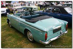 Hillman Minx Convertible Series IIIB Convertible, Car Badges, British Sports Cars, Garages, Hot Cars, Fiat, Cars And Motorcycles, Muscle Cars, Vintage Cars