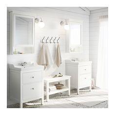 HEMNES Meuble à miroir 1 porte - blanc - IKEA