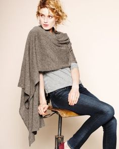 Easy-Care Cashmere Wrap