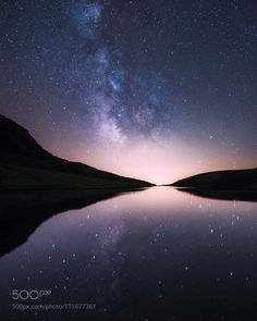 Milky Reflections  An amazing star reflection at Dimon Lake. What an amazing…