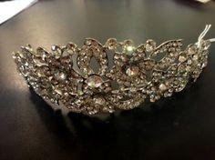 wedding tiaras Wedding Tiaras, Bridal Accessories, Veil, Jewelry, Fashion, Jewellery Making, Moda, Jewerly, Jewelery