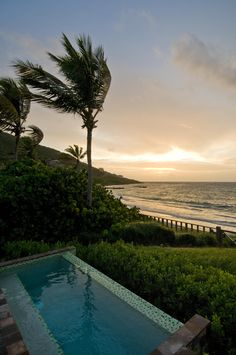 Turtle Beach Bungalows at Christophe Harbour, St. Beautiful World, Beautiful Places, Beautiful Scenery, Great Places, Places To See, Romantic Resorts, Turtle Beach, Beach Bungalows, Worldwide Travel