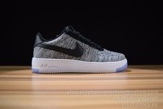 Nike Air Force 1 Flyknit celeste