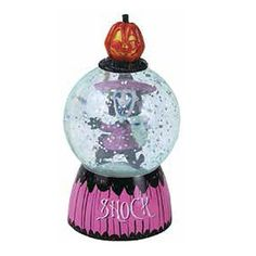 The Nightmare Before Christmas Shock 2-Inch Sparkler Globe - Westland Giftware - Nightmare Before Christmas - Snow Globes at Entertainment Earth