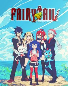 Fairy Tail this was my background for a while. Love it