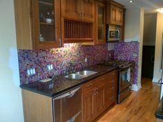 purple backsplash decorating with purple purple rooms designs
