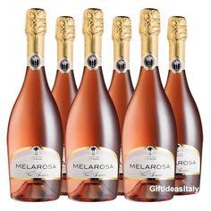 Melarosa Rosé Vino Spumante Extra Dry 6 Bottiglie - Cantine Due Palme