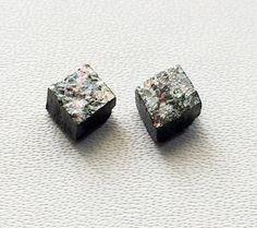 Grey Raw Diamond Grey Diamond Matched Pairs by gemsforjewels