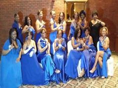 Zeta Phi Beta Sorority, Inc. and Phi Beta Sigma  Fraternity, Inc. Blue and White Ball Seoul, Korea, 2013