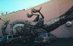 ROA was in Richmond, Virginia recently for the G40 Art Summit