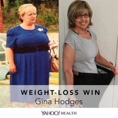 Gina Hodges is 58 years old, 5′6″ tall, and weighs 150 pounds. But back in 2013, she weighed 285 pounds — this is the story of her incredible weight-loss journey.