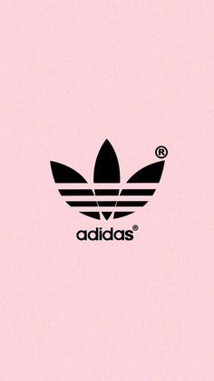 Imagem de adidas, pink, and wallpaper Pinterest @cris_galant ♡