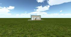 Cool 3D #marketing http://ift.tt/2gGnPyU #barn #workshop #greenhouse #garage #roofing #DIY
