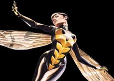 Wannabe Shero #4: Wasp fr the Avengers-2 PhDs, dated Captain America, & despite domestic violence (boo on Antman)-she's scrappy & clever.