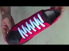 5 Cách buộc dây giày cực đẹp. - YouTube