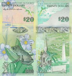Bermuda 20 Dollars