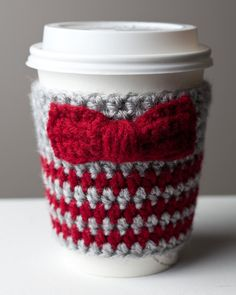 Doctor Who Eleventh Doctor Inspired Coffee Cup Cozy. $14.99, via Etsy.