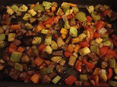 Look What I Made!: Balsamic Marinated Roasted Veggies