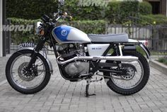 Suzuki - GR 650 special, nice idea