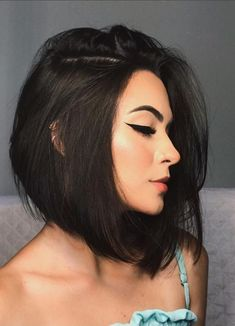 41 Cute Stacked Bob Hairstyles for Women 2020 - Page 16 of 41 - Lead Hairstyles Stacked Bob Hairstyles, Inverted Bob Hairstyles, Short Bob Haircuts, Easy Hairstyles, Thick Bob Haircut, Bob Haircut Black Hair, Wedding Hairstyles, Bob Haircuts For Women, Layered Haircuts