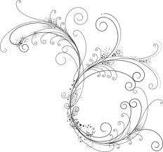 delicate filigree
