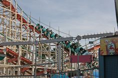 Mission Beach - Giant Dipper Roller Coaster, San Diego