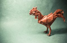 Origami Animals Spring To Life From One Piece Of Paper