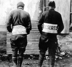 """""""American straggler and a deserter publicly humiliated at Florient, France. 5 November 1918."""""""