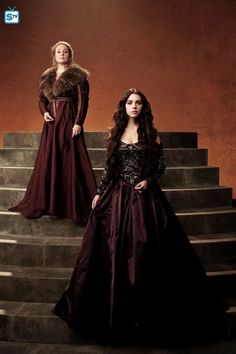 "Reign S2 Cast: Megan Follows ""Catherine,"" Adelaide Kane ""Mary"""