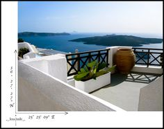 Serenity in Santorini...   #GreekIslands #Greece #travel