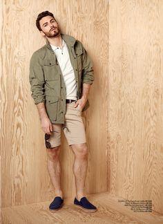Xhibition SS16 - Mens Fashion Ss16, Military Jacket, Mens Fashion, Jackets, Moda Masculina, Down Jackets, Army Fatigue Jacket, Man Fashion, Military Field Jacket