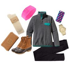 Bean Boots, created by patagoniaandpolos on Polyvore