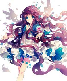 So beautiful anime girl !